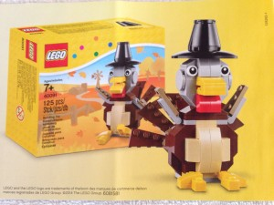 LEGO Thanksgiving 2014 Turkey 40091 Set Box