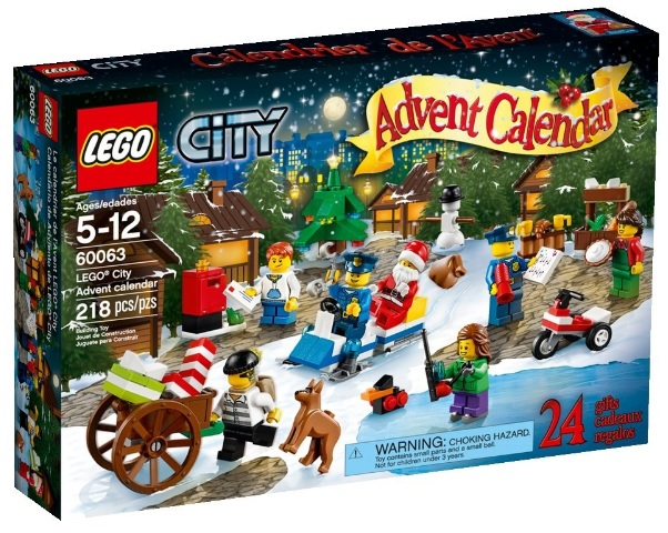 2014 LEGO City Advent Calendar 60063 - Toysnbricks
