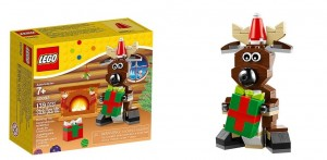 2014 LEGO Holiday 40092 Reindeer Seasonal Set