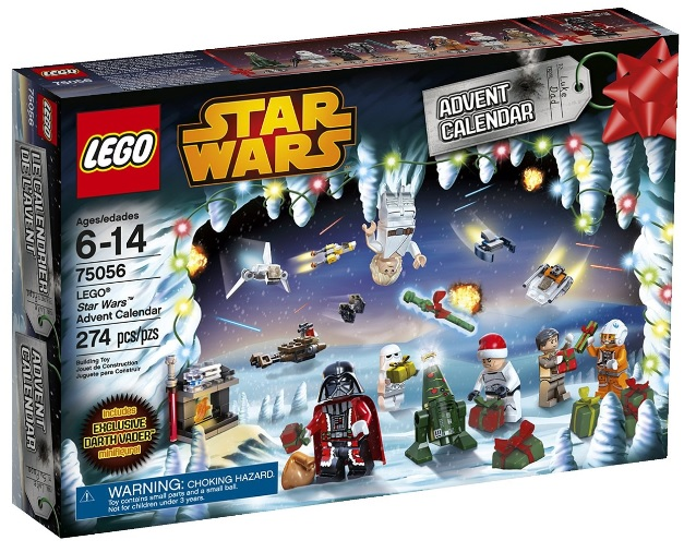 2014 LEGO Star Wars Advent Calendar 75056 Box - Toysnbricks