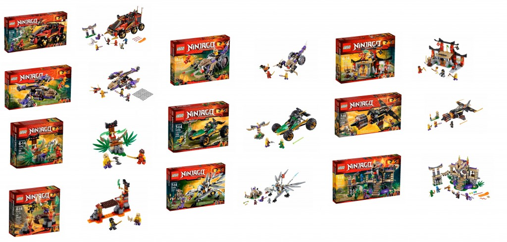 2015 January LEGO Ninjago Set Pictures 70745 70746 70747 70748 70749 70750 70752 70753 70755 70756