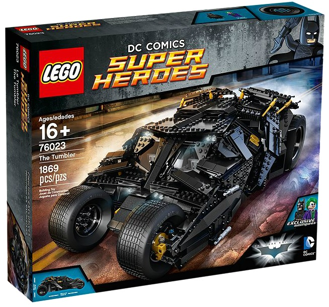 76023 LEGO UCS The Tumbler Super Heroes DC Comics Batman Box - Toysnbricks