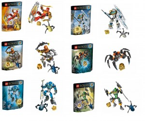 January 2014 Pictures LEGO Bionicle 70790 70788 70787 70786 70785 70784