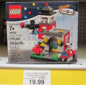 LEGO 40182 Fire Station ToysRUs USA