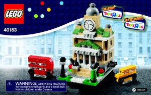 LEGO 40183 Town Hall Bricktober 2014 ToysRUs Set - Toysnbricks
