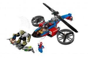 LEGO 76016 Marvel Super Heroes Spider-Helicopter Rescue - Toysnbricks