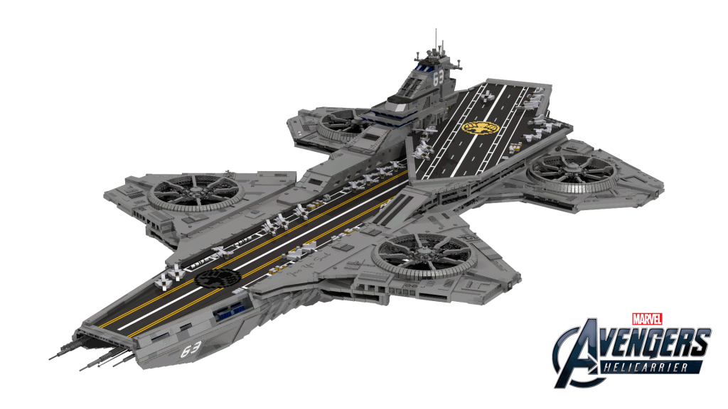 LEGO Marvel Avengers Helicarrier - Potential LEGO Ideas Set