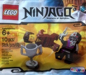 LEGO Ninjago 5002144 Dareth vs. Nindroid Polybag ToysRUs 2014 (Pre)