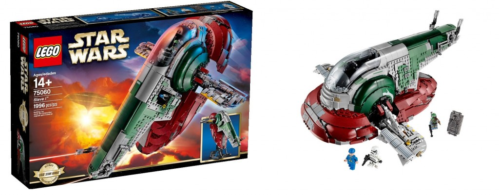 LEGO Star Wars 75060 UCS Slave I Set Pictures
