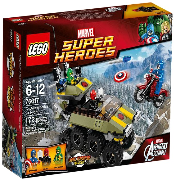 LEGO Super Heroes Marvel Captain America vs. Hydra 76017 - Toysnbricks