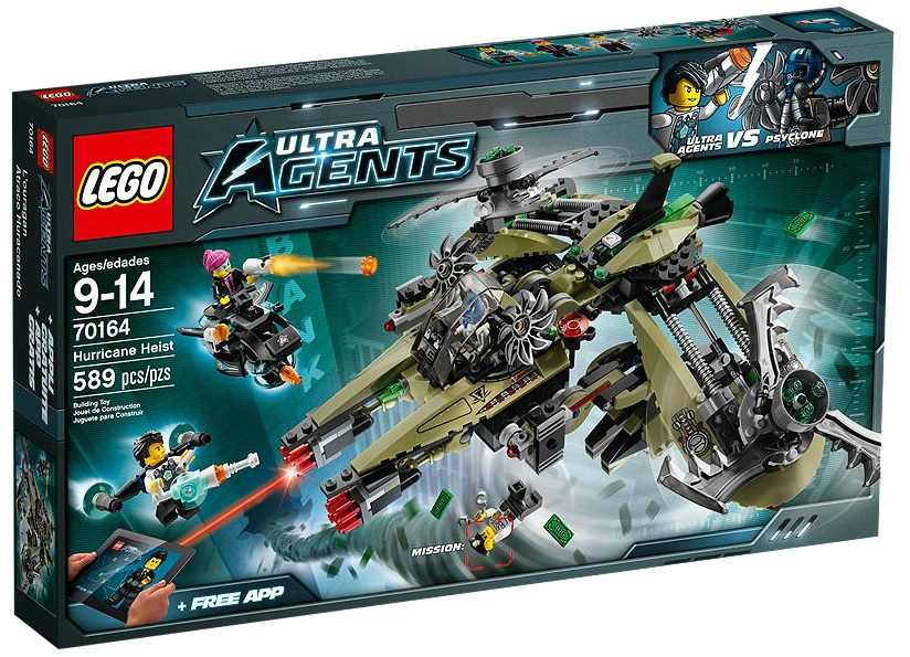 LEGO Ultra Agents 70164 Hurricane Heist - Toysnbricks