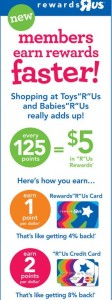 RewardsRUs New ToysRUs Rewards Program September 2014
