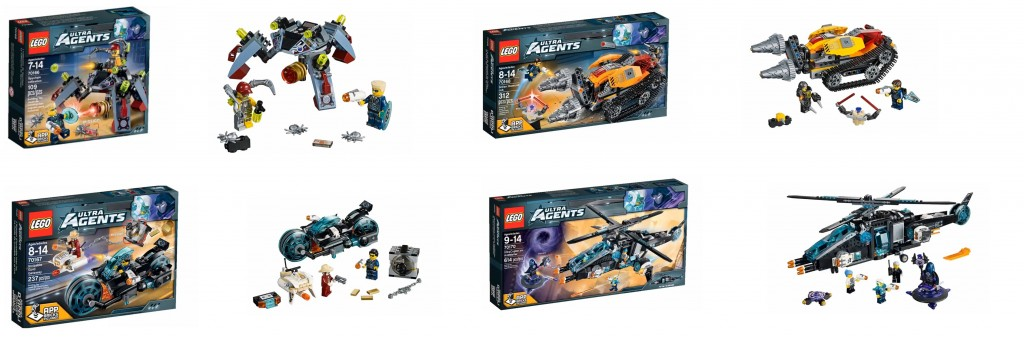 2015 January LEGO Agents Set Pictures 70166 70167 70168 70170