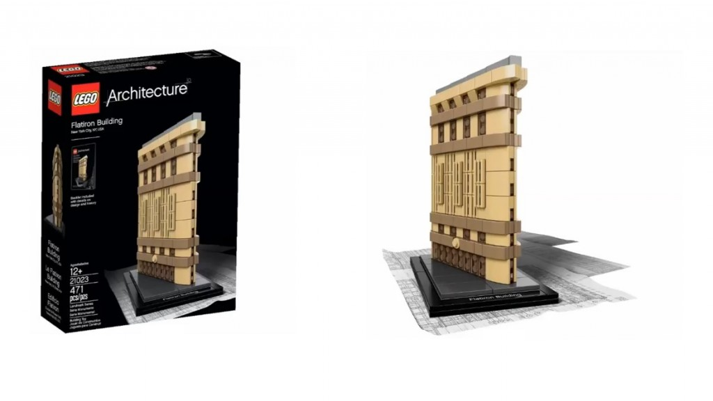2015 LEGO Architecture 21023 Flatiron Building, New York