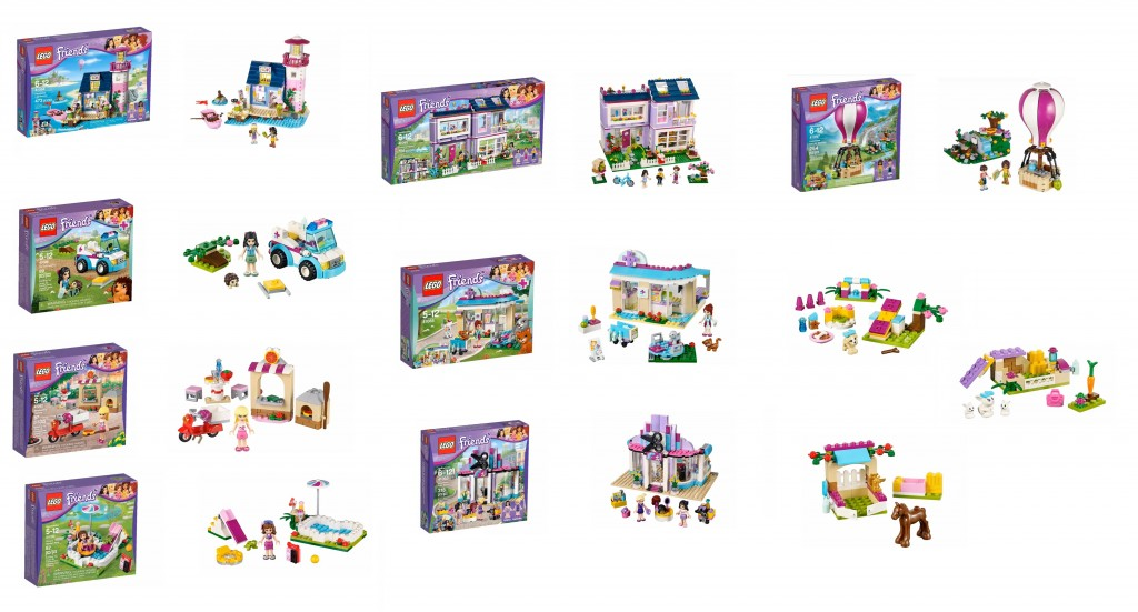 2015 LEGO Friends Set Pictures 41085 41086 41090 41092 41093 41094 41095 41097 41087 41088 41089