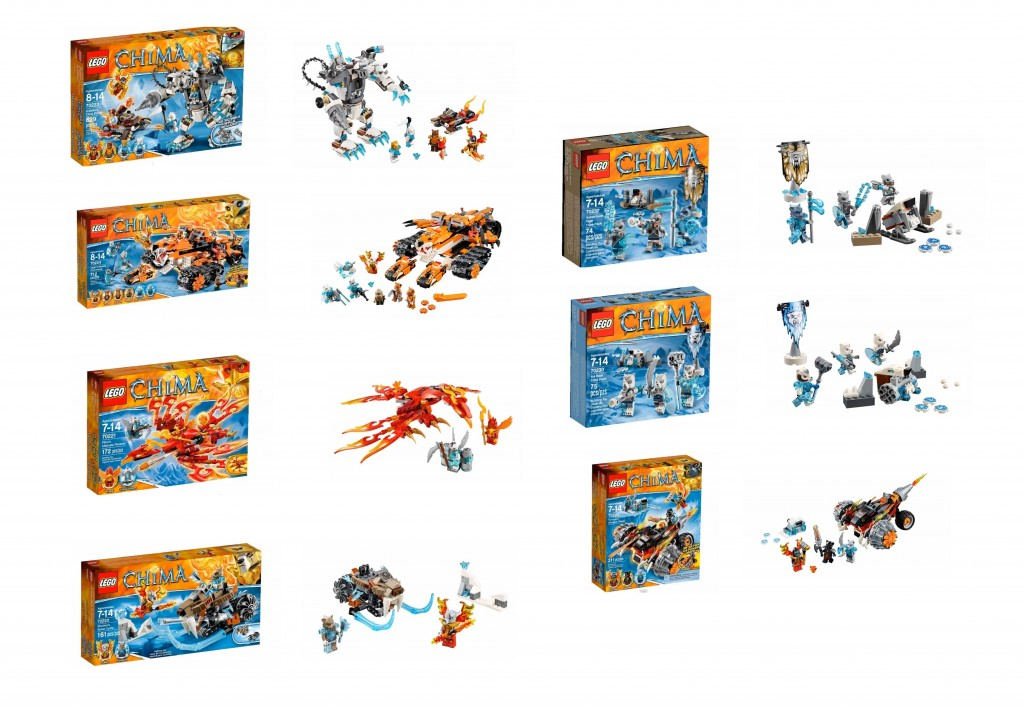 2015 LEGO Legends of Chima Set Pictures 70220 70221 70222 70223 70224 70229 70230 70231 70232