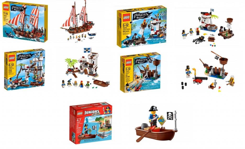 2015 LEGO Pirates Set Pictures 70409 70410 70412 70413, Juniors Pirates 10679