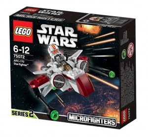 2015 LEGO Star Wars 75072 ARC-170 Starfighter Microfighters Series 2