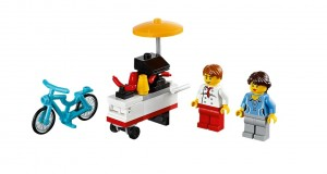 40078 LEGO Hot Dog Cart Polybag Set - Toysnbricks