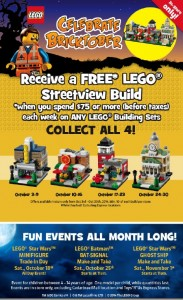 Bricktober 2014 October Sales Events Promotions ToysRUs Canada