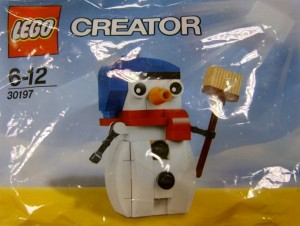 LEGO 30197 Snowman 2014 Christmas Holiday Set