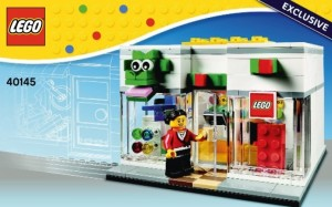 LEGO 40145 Brand Store 2014 Exclusive 2nd Edition