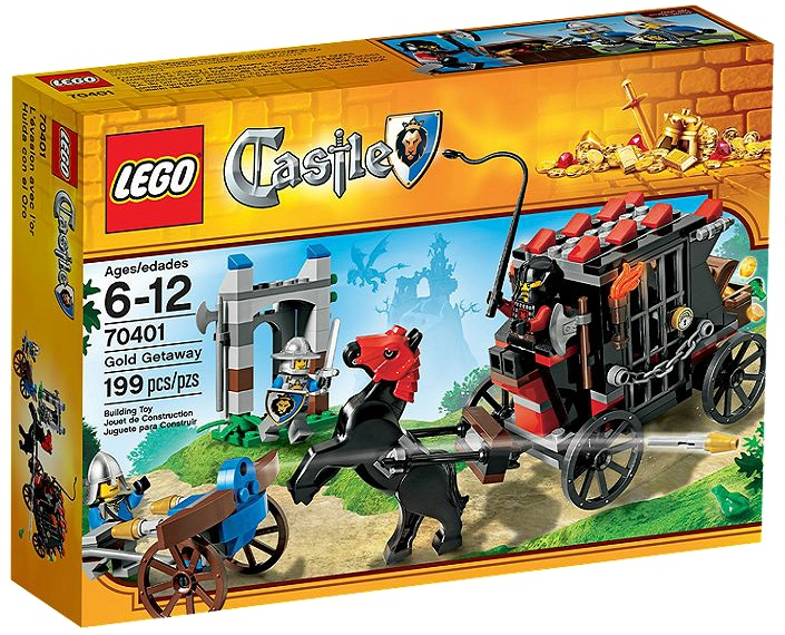 LEGO 70401 Castle Gold Getaway - Toysnbricks