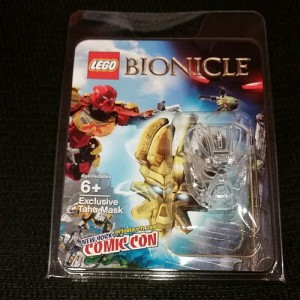 LEGO Bionicle Tahu Mask New York Comic Con 2014 Exclusive