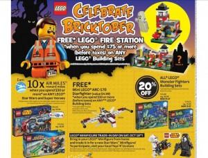 LEGO Bricktober 2014 Week 3 LEGO Sale ToysRUs Canada
