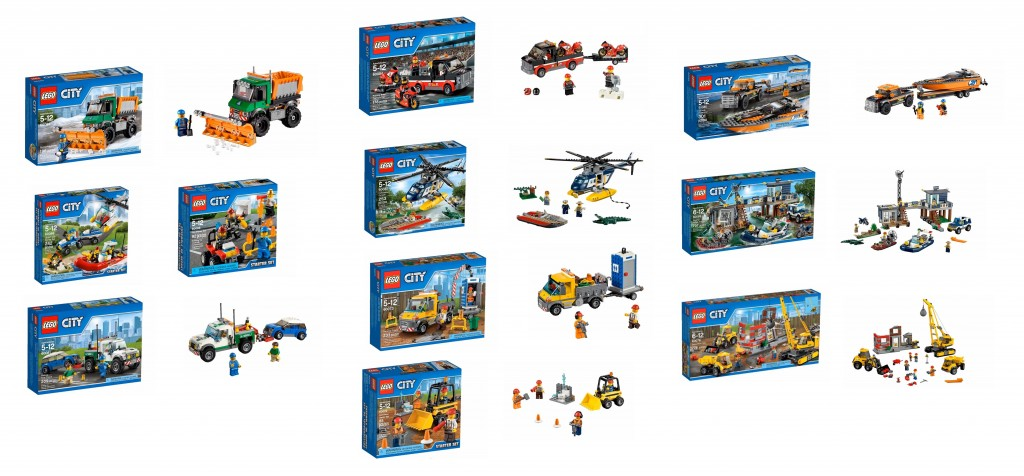 LEGO City January 2015 Set Pictures 60067 60069 60073 60076 60081 60083 60085 60086 60088