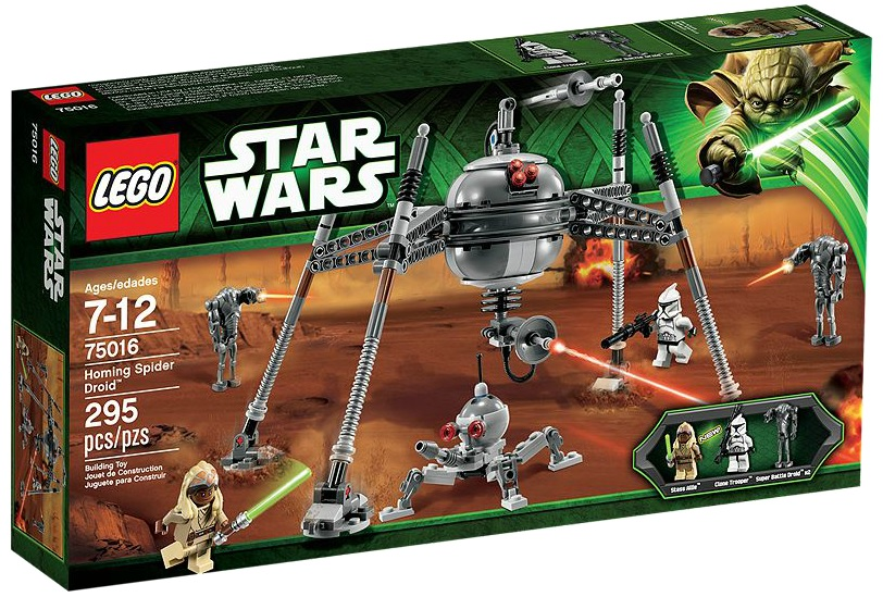 LEGO Star Wars 75016 Homing Spider Droid - Toysnbricks