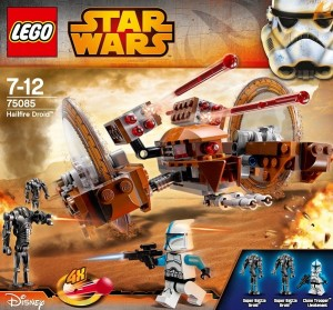 LEGO Star Wars 75085 Hailfire Droid Disney