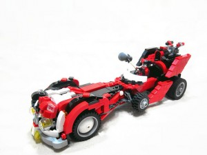 LEGO Super Heroes Contest October 2014 TnB Harley Quinn's Hammer Truck by citizen