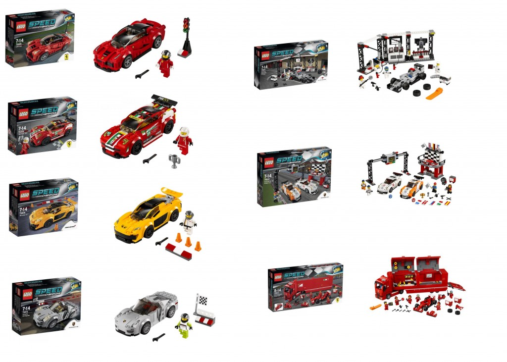 2015 LEGO Speed Champions Pictures 75899 75908 75909 75910 75911 75912 75913 - Toysnbricks