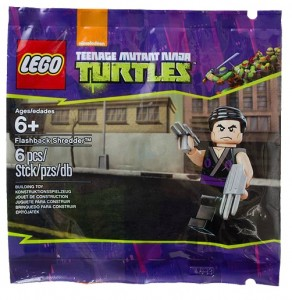 5002127 LEGO Teenage Mutant Ninja Turtles Flashback Shredder Minifigure - Toysnbricks