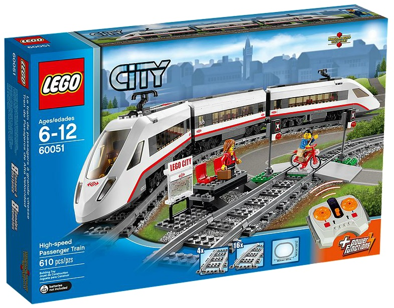 60051 LEGO City High-speed Passenger Train - Toysnbricks