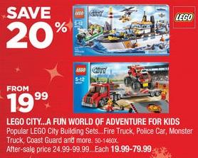 Canada Canadian Tire Lego Black Friday Sale 2014 Toys N Bricks Lego News Blog