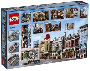 LEGO 10246 Detective's Office Box Back - Toysnbricks