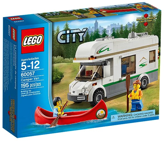 LEGO 60057 City Camper Van - Toysnbricks