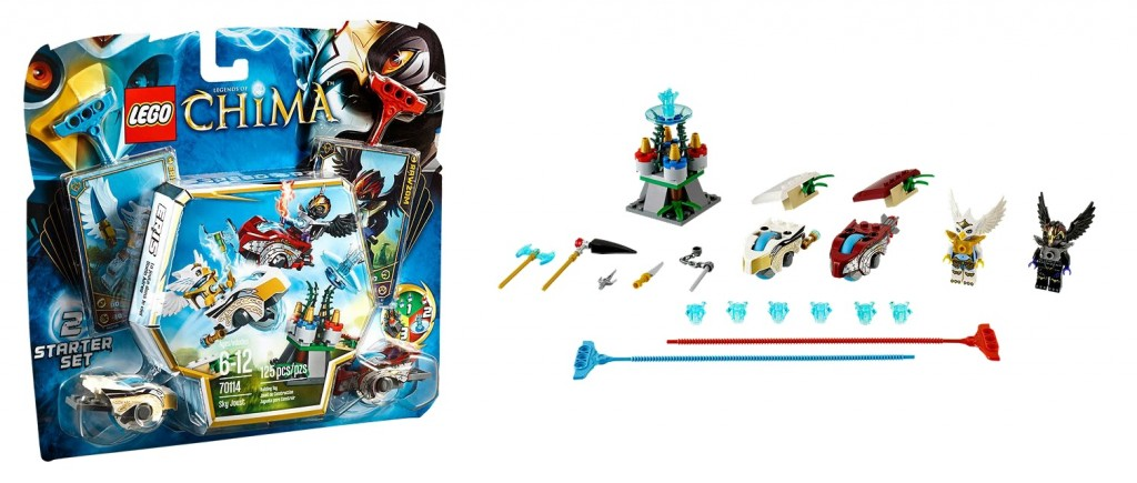 LEGO Chima 70114 Sky Joust Starter Set - Toysnbricks