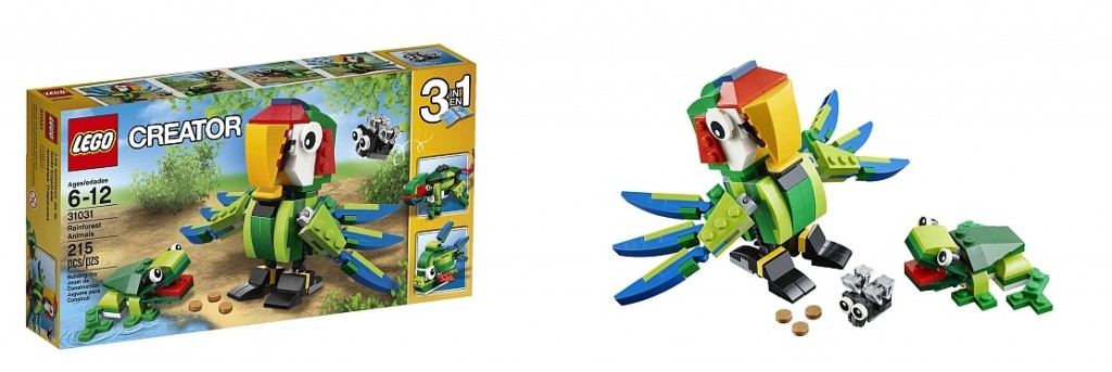 LEGO Creator 31031 Rainforest Animals - Toysnbricks