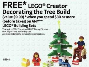 LEGO Creator Decorating the Tree Build Set ToysRUs Canada Black Friday 2014