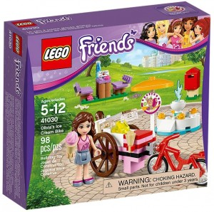 LEGO Friends 41030 Olivia's Ice Cream Bike - Toysnbricks