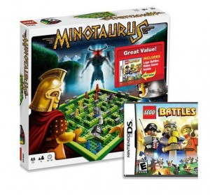 LEGO Games Minotaurus Bundle with LEGO Battles Video Game - Nintendo DS