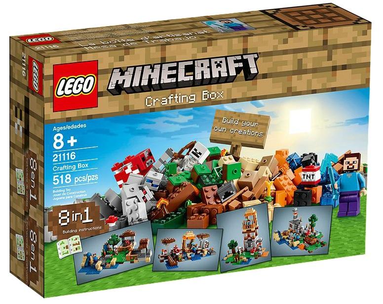 LEGO Minecraft 21116 Crafting Box - Toysnbricks