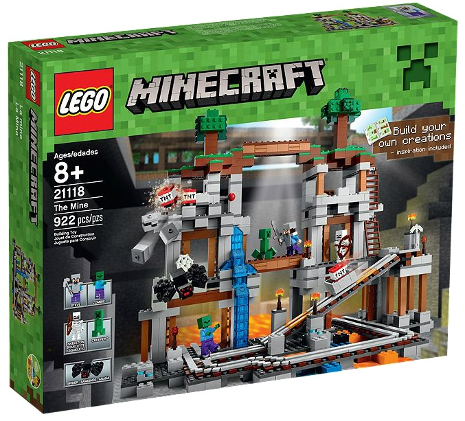 LEGO Minecraft The Mine 21118 - Toysnbricks