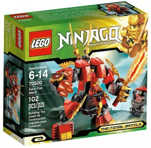 LEGO Ninjago 70500 Kai's Fire Mech - Toysnbricks
