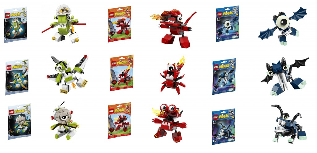 LEGO Series 4 Mixels Set Pictures 41527 41528 41529 41530 41531 41532 41533 41534 41535 - Toysnbricks