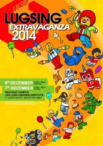 LUGSING LEGO Singapore Extravaganza 2014 Event