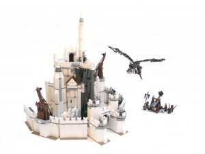 Lord of the Rings Set Minas Tirith (Potential LEGO Ideas Set)